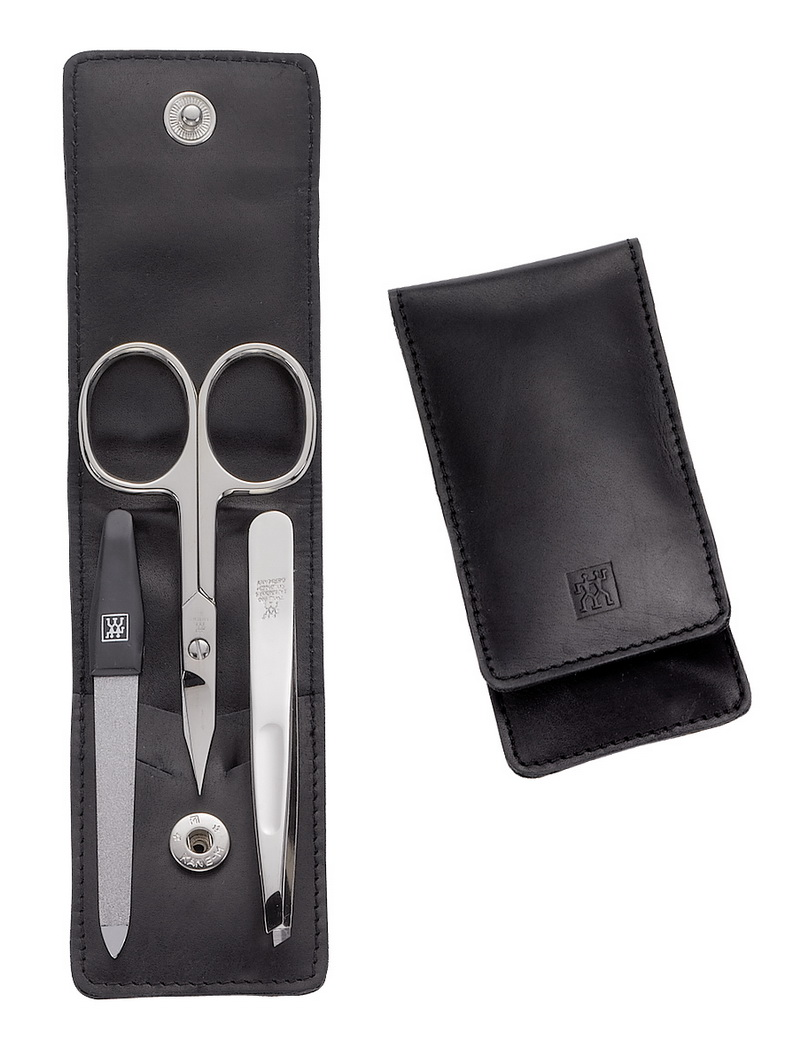zwilling twin classic manicure set etui nappaleder neu ebay. Black Bedroom Furniture Sets. Home Design Ideas