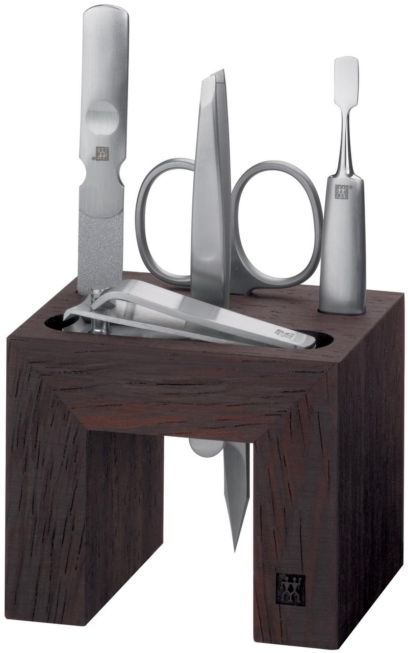 zwilling spa bad station manicure set holz braun neu ebay. Black Bedroom Furniture Sets. Home Design Ideas