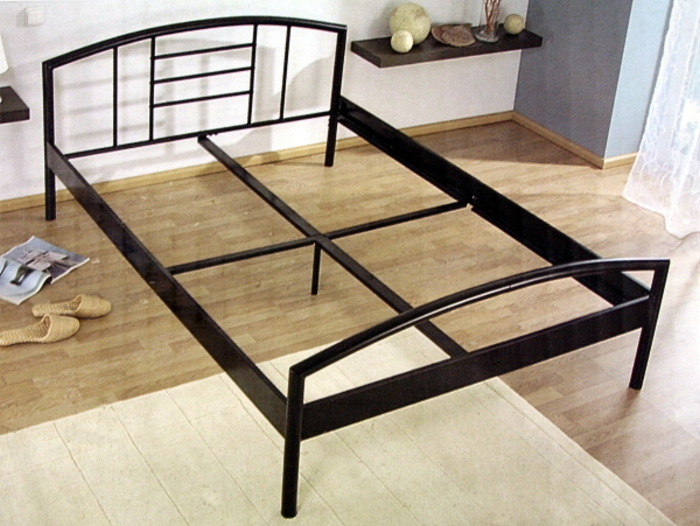 metallbett 140x200 f r 30 euro. Black Bedroom Furniture Sets. Home Design Ideas