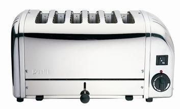 gastro toaster dualit vario 6 slice buffet br tchen 6. Black Bedroom Furniture Sets. Home Design Ideas